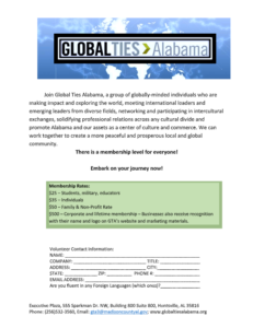 Global Ties Membership
